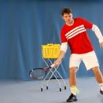 Wawrinka beim Daviscup in Kreuzlingen